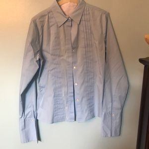 Baby blue classic shirt